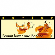 Zotter Peanut Butter And Banana Milk Chocolate Bar 70g